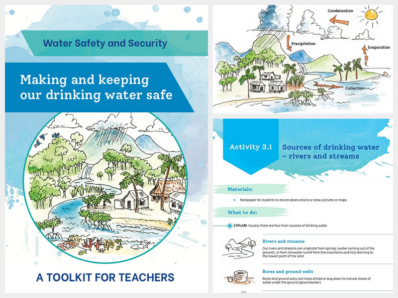 Cover of School Water Safety and Security Guide